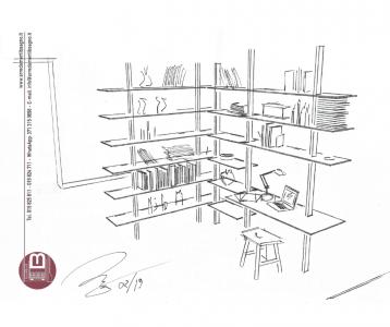 Immagine progetto home office Arredamenti Boagno Savona