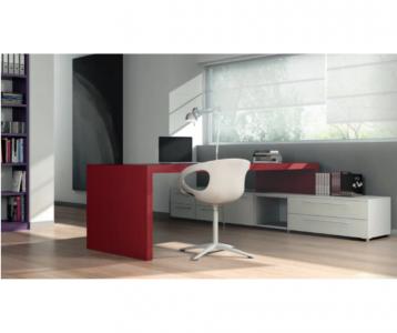 Immagine scrivania rossa De Rosso Arredamenti Boagno Savona