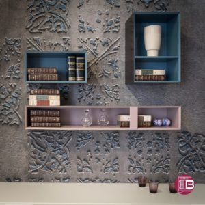 Wallpaper Wall&decò showroom Arredamenti Boagno