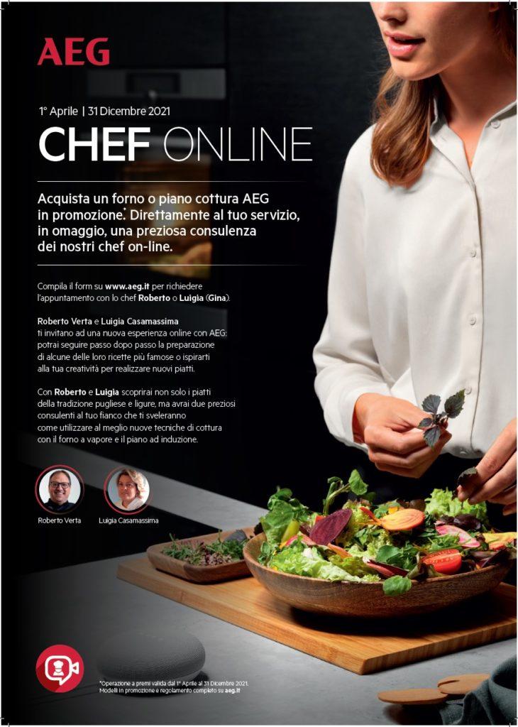 Promo AEG Chef Online